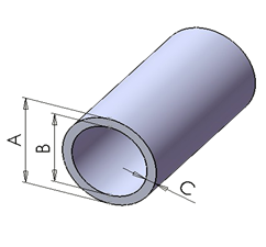 Nantong Sui Generis Round Tube Pultruded Profile